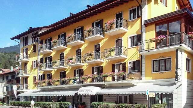 Weekend romantico a Comano Terme con drink di benvenuto e noleggio bici!