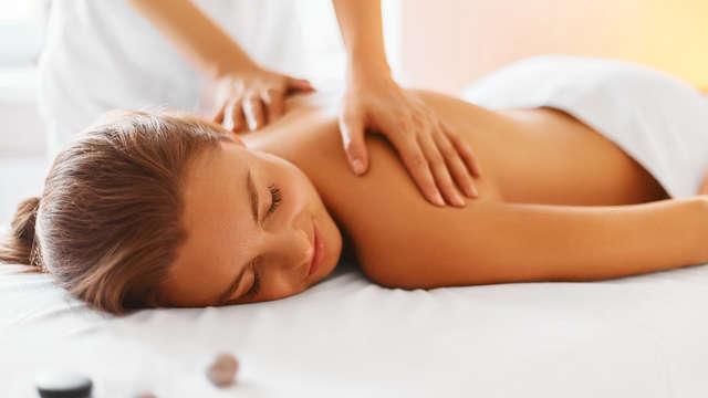 Escapade super relaxante à Montanejos, avec massage, dîner, circuit de spa et gastronomie