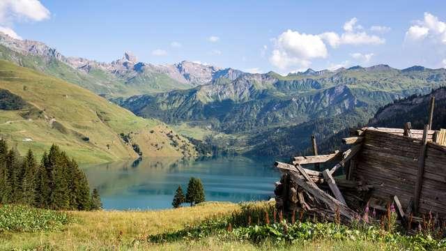 Séjour dans un cadre naturel dans les Alpes, à Armoy