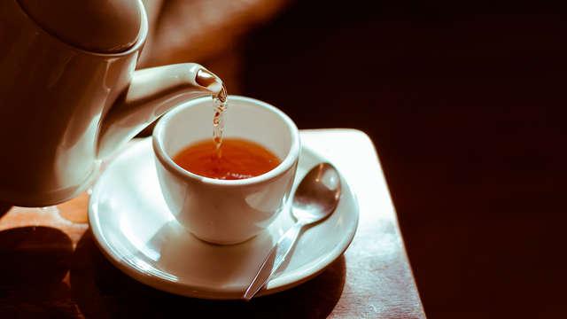Koffie of thee met lekkernijen