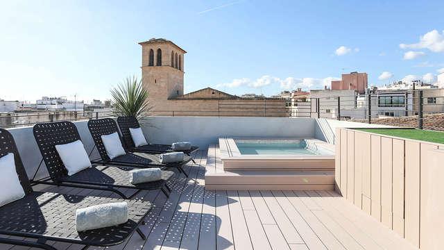 Escapada con Cena degustación y acceso al Spa en un lujoso hotel 5* de Palma de Mallorca