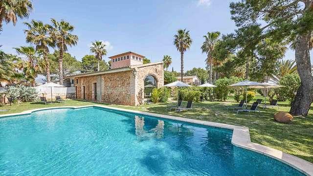 Escapada en una lujosa casa rural en pleno corazón de la isla de Mallorca