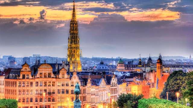 Elegancia y vanguardismo por las calles de Bruselas