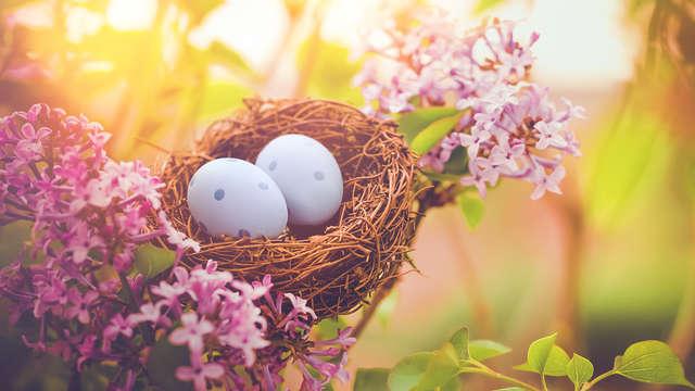 Séjour gourmand avec chasse aux œufs pour Pâques (à partir de 2 nuits)