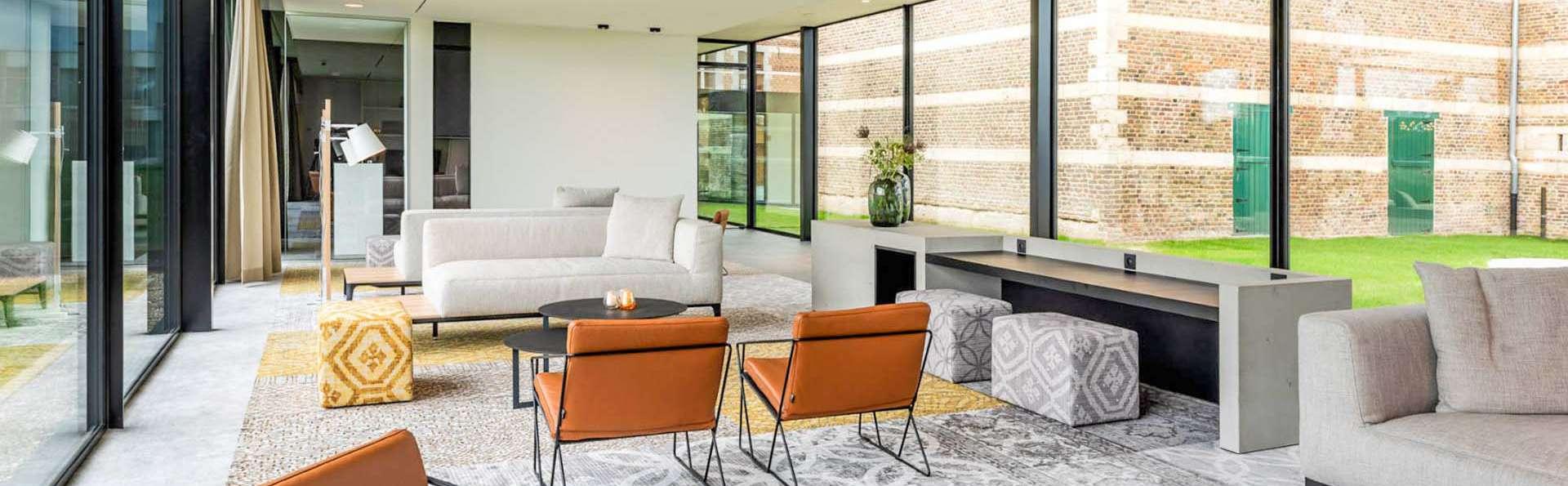 Gezellige sferen in Bilzen en verblijf in een modern stijlvol hotel
