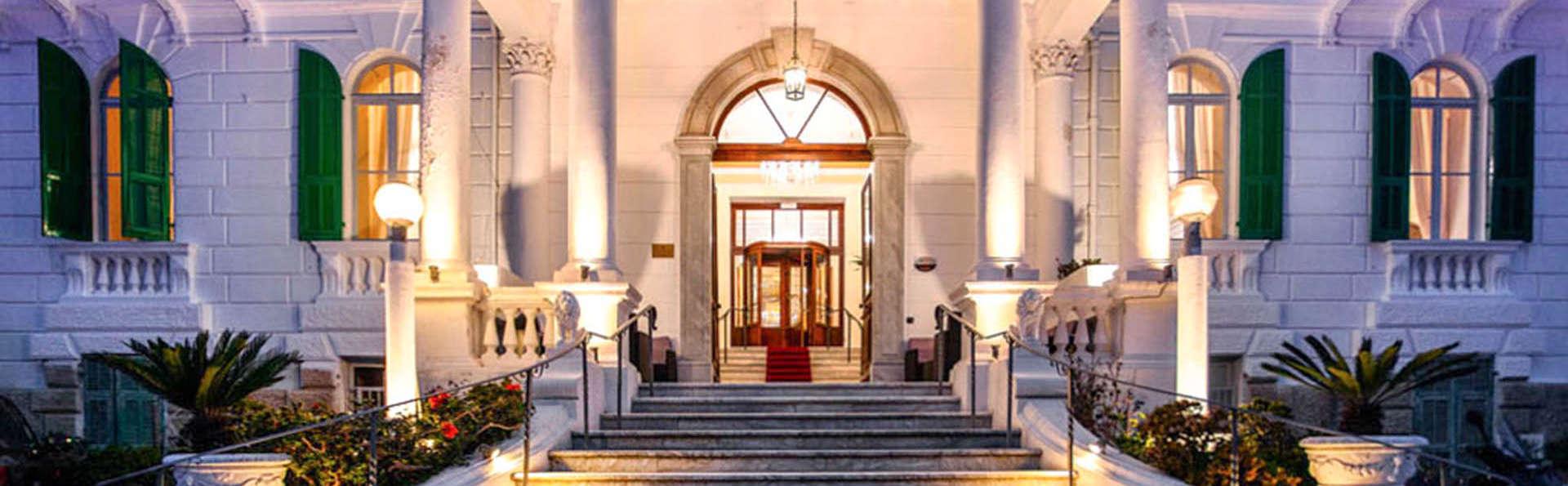 Étape au cœur de Sanremo dans un magnifique bâtiment historique