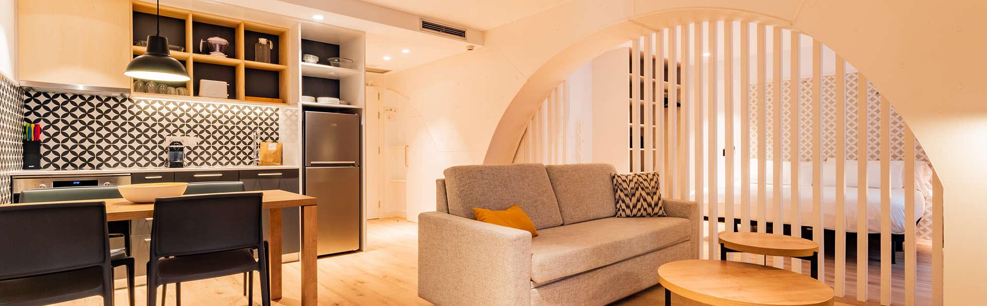 Escapade en appartement triple : séjour au centre de Tarragone