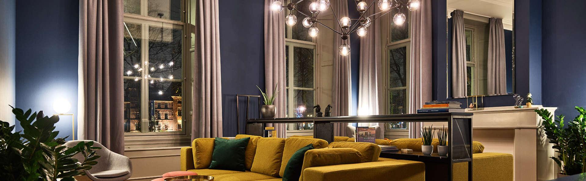 Confort dans un hôtel design au cœur de la pittoresque ville de La Haye