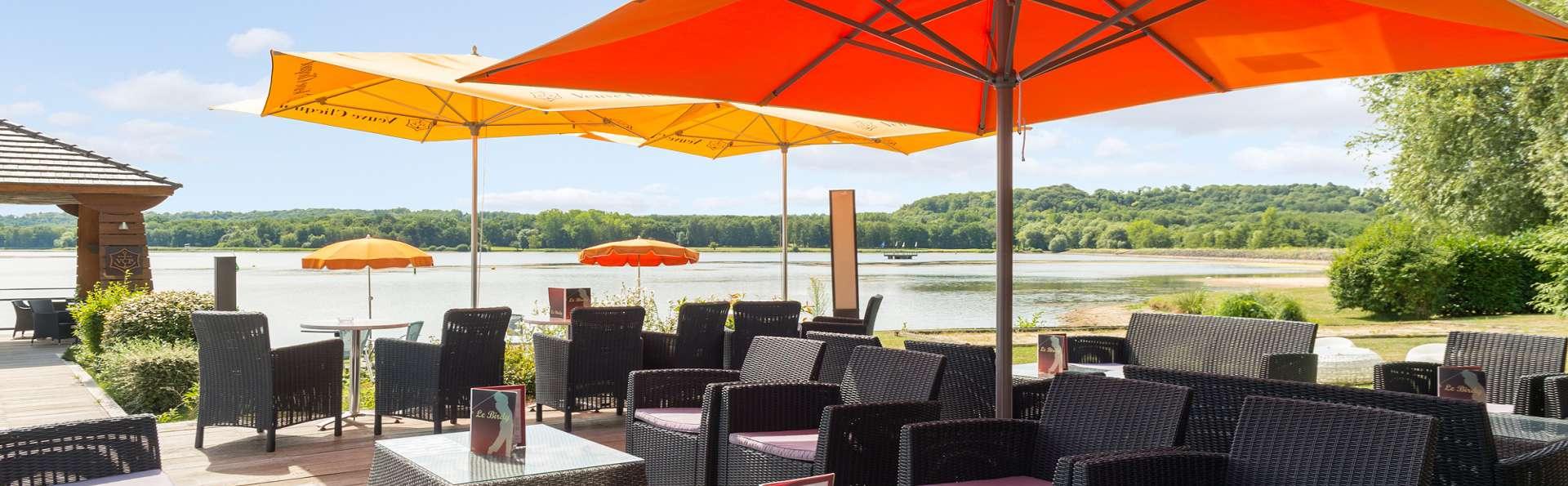 Week-end avec dîner sur les bords du lac de l'Ailette près de Reims