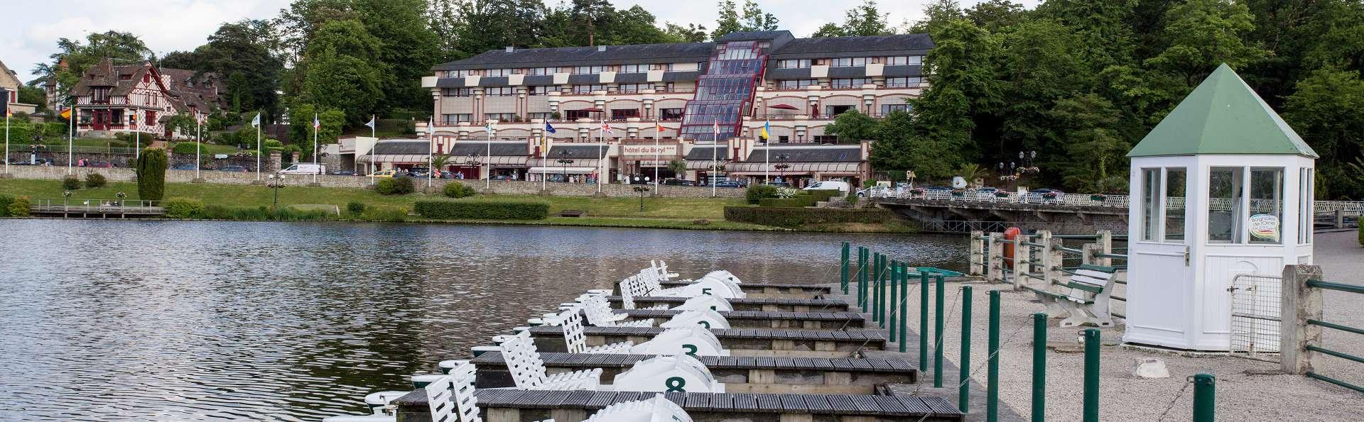 Hôtel et spa du Béryl - Bagnoles de l'Orne - EDIT_Vue_exterieure.jpg