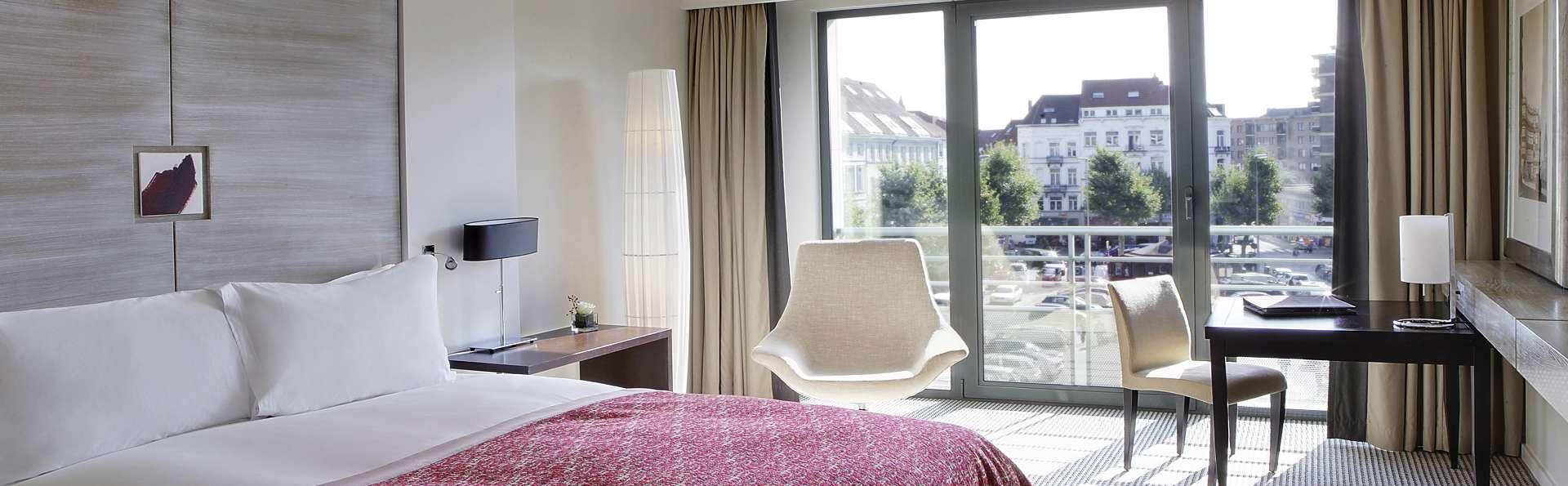 Geniet van een gratis upgrade Superior kamer tijdens je verblijf in Brussel