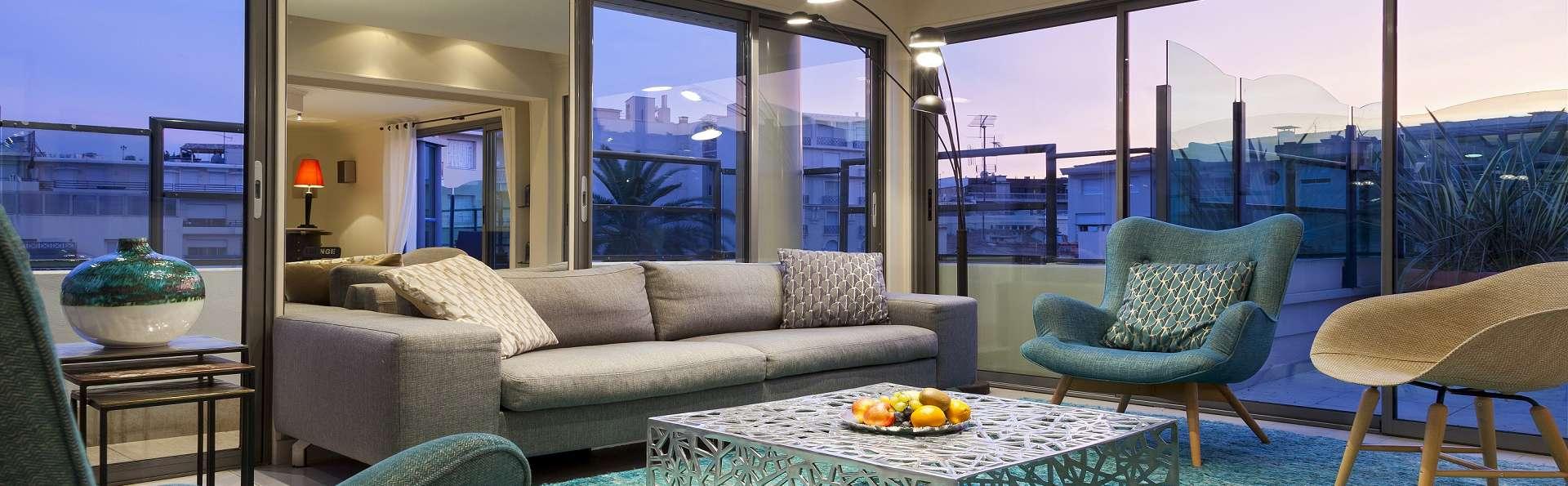 Escapade de luxe en suite Penthouse de 200 m2 près de la croisette