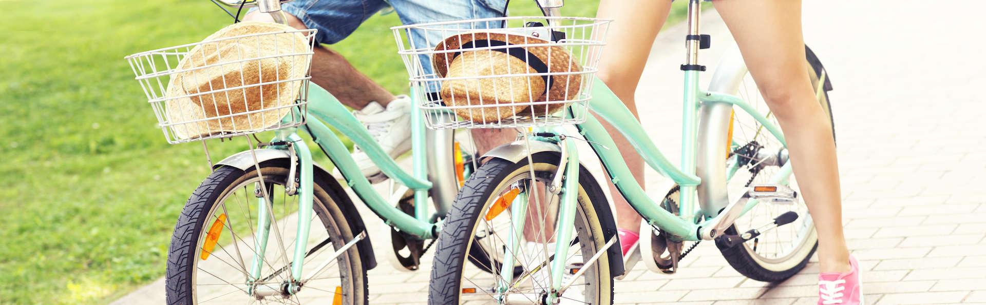 Balade à vélo près de Tours