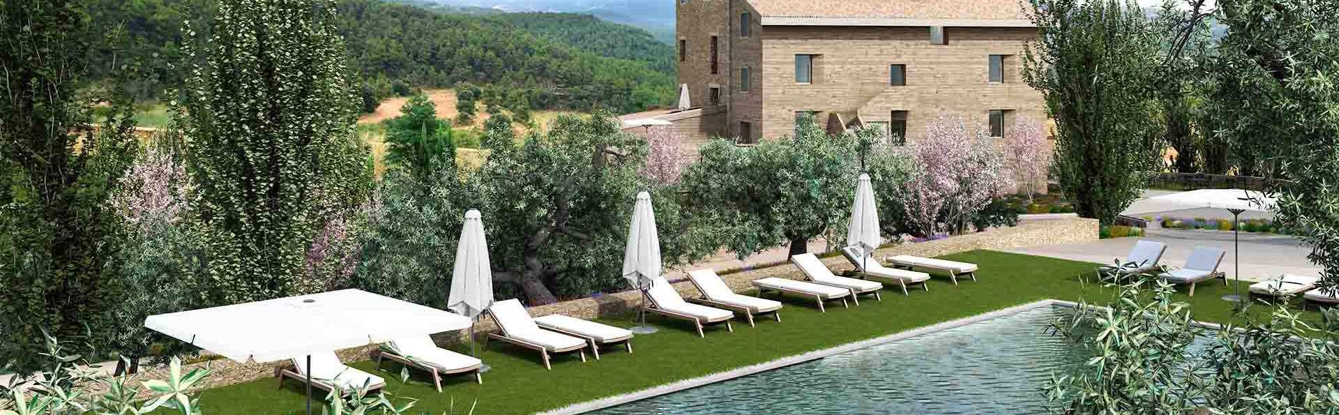 Relax 5 estrellas en Aragón con desayuno y acceso privado al spa