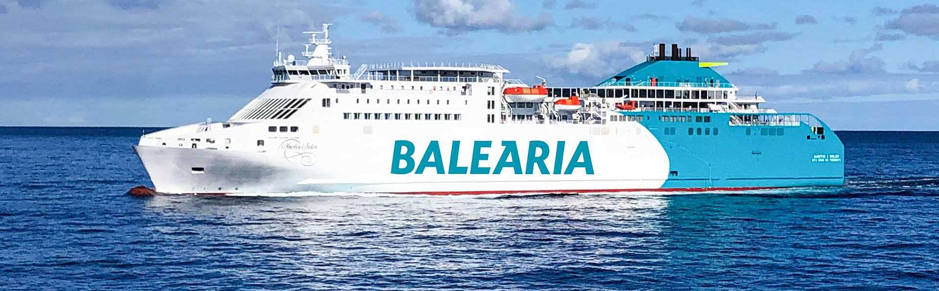 Palma de Mallorca con media pensión y ferry Balearia desde Valencia (7 días/5 noches)