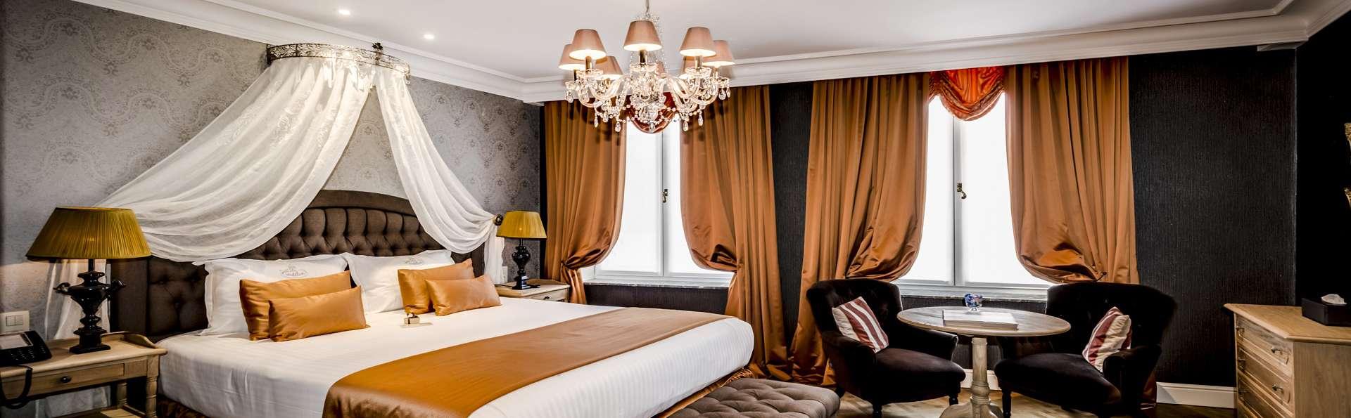 Le centre de Bruges en amoureux, luxe et romantique à souhait