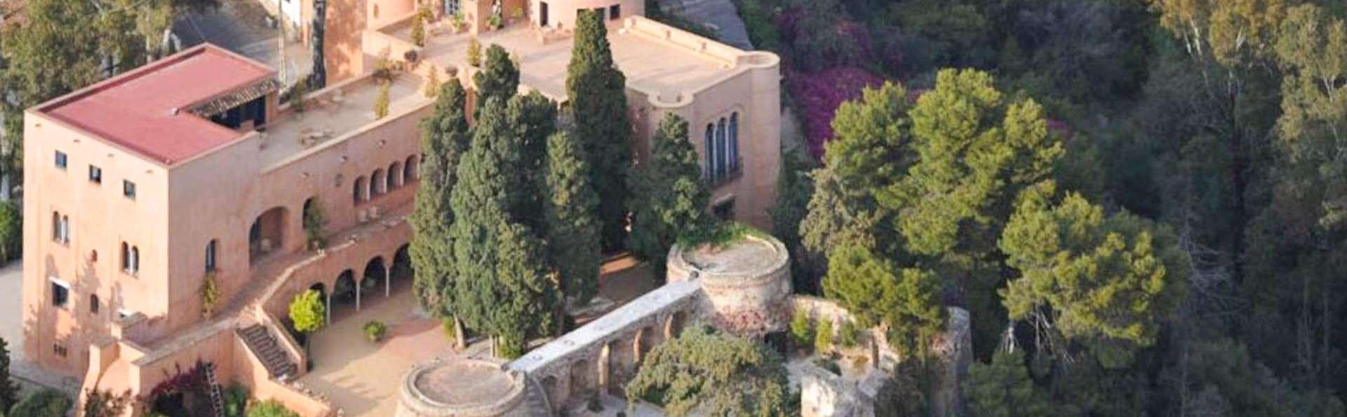 El buenos días que esperabas: desayuna en un majestuoso castillo a un paso de la playa de Málaga