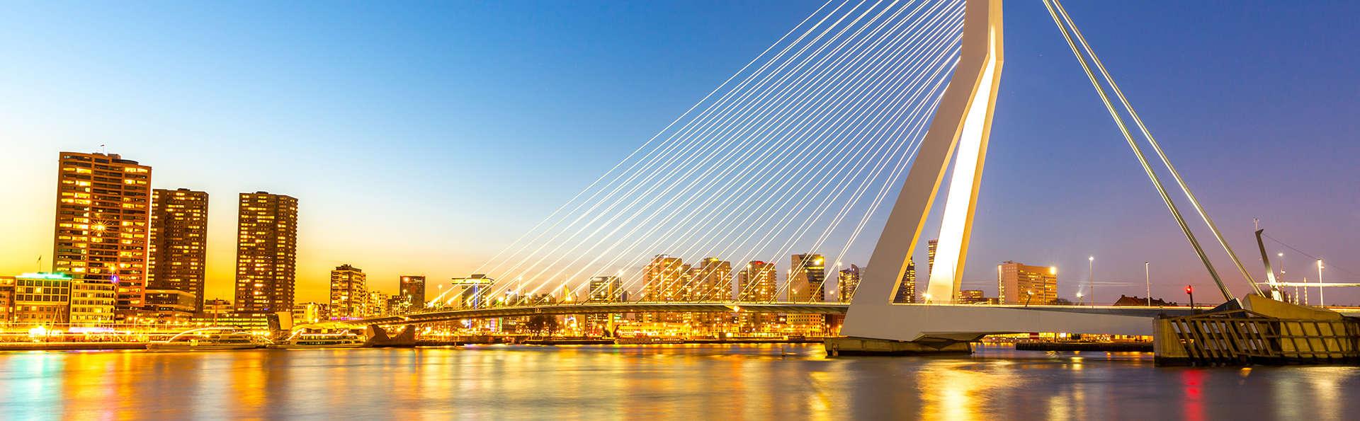Confort et hospitalité lors d'un city trip à Rotterdam (2 nuits)