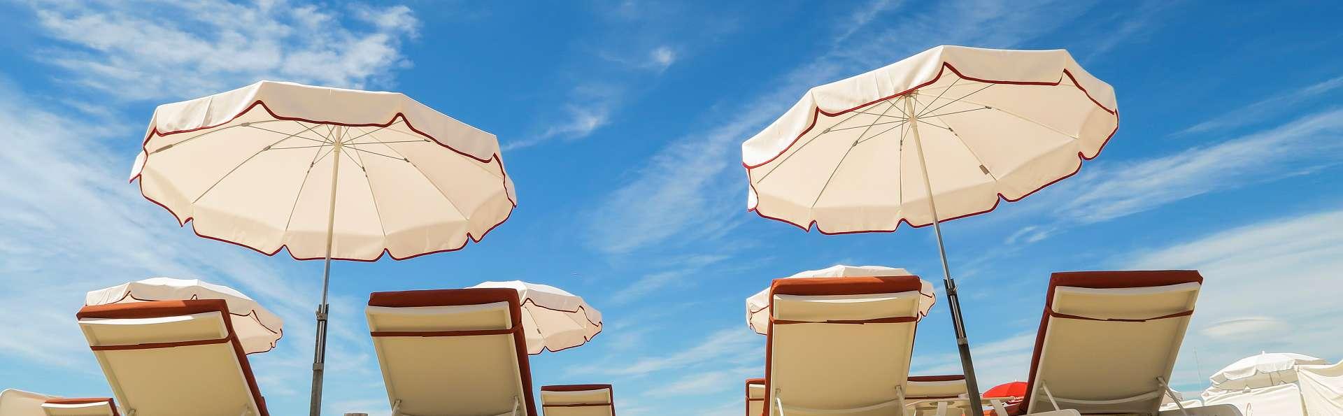Demi pension à Cannes avec accès à la plage privée de l'hôtel