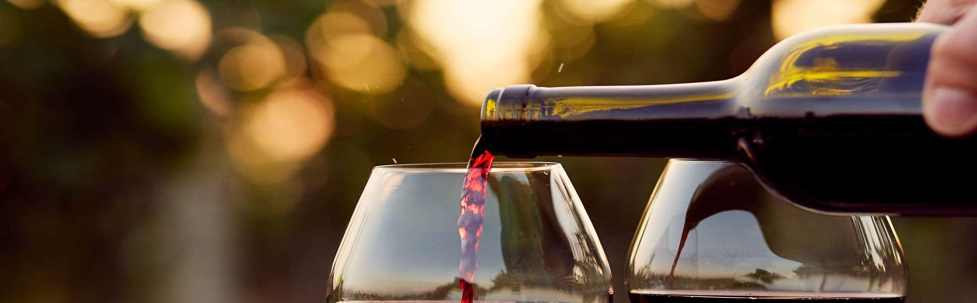 Week-end bien être avec bouteille de vin régional aux portes de Bordeaux