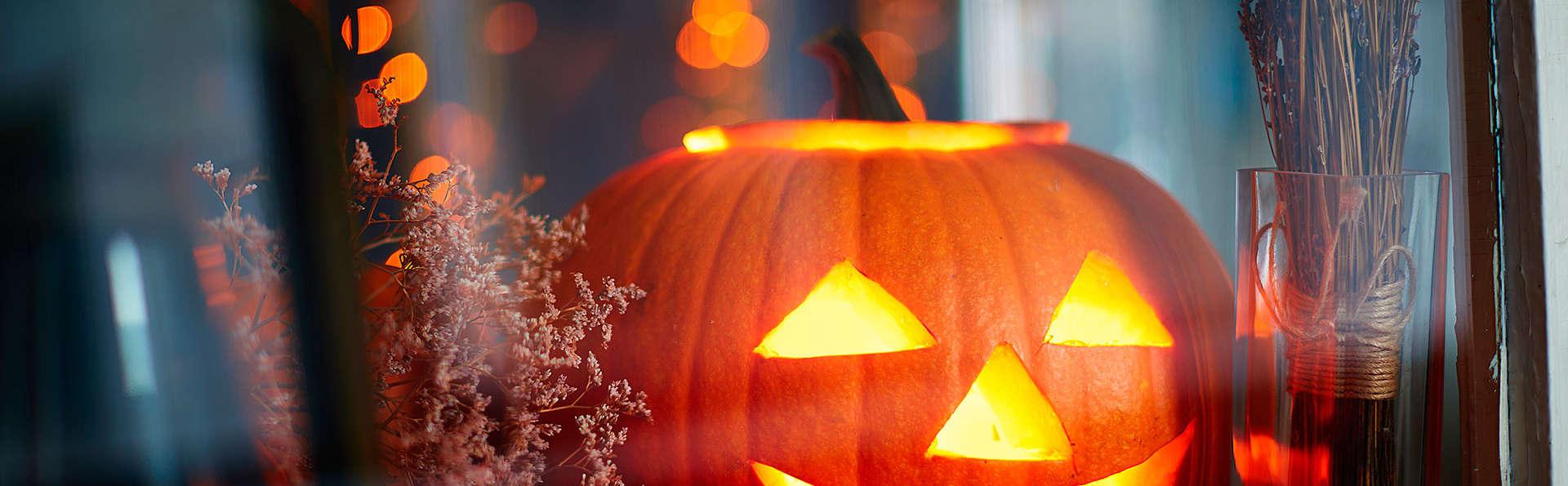 Halloween en Salou en pensión completa, con acceso a spa y concurso de disfraces