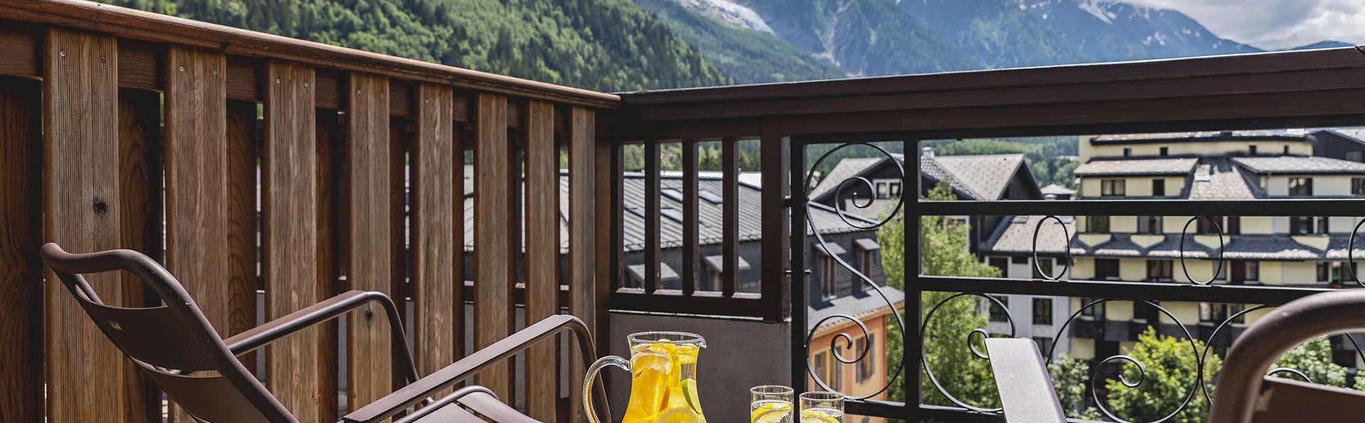 Profitez d'une chambre élégante à Chamonix avec petit déjeuner inclus