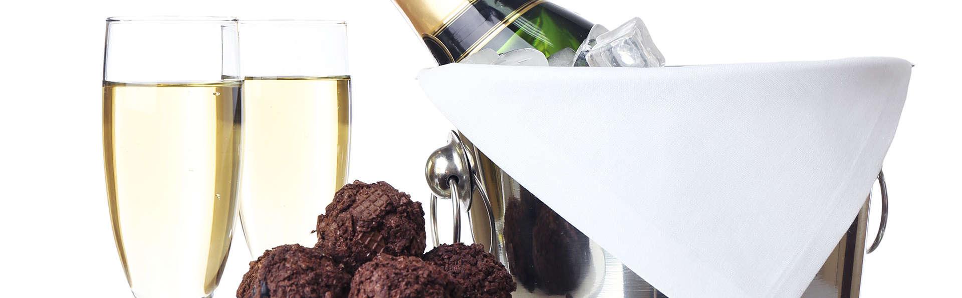 Romantisme au champagne et chocolats au cœur du Vieux Lille