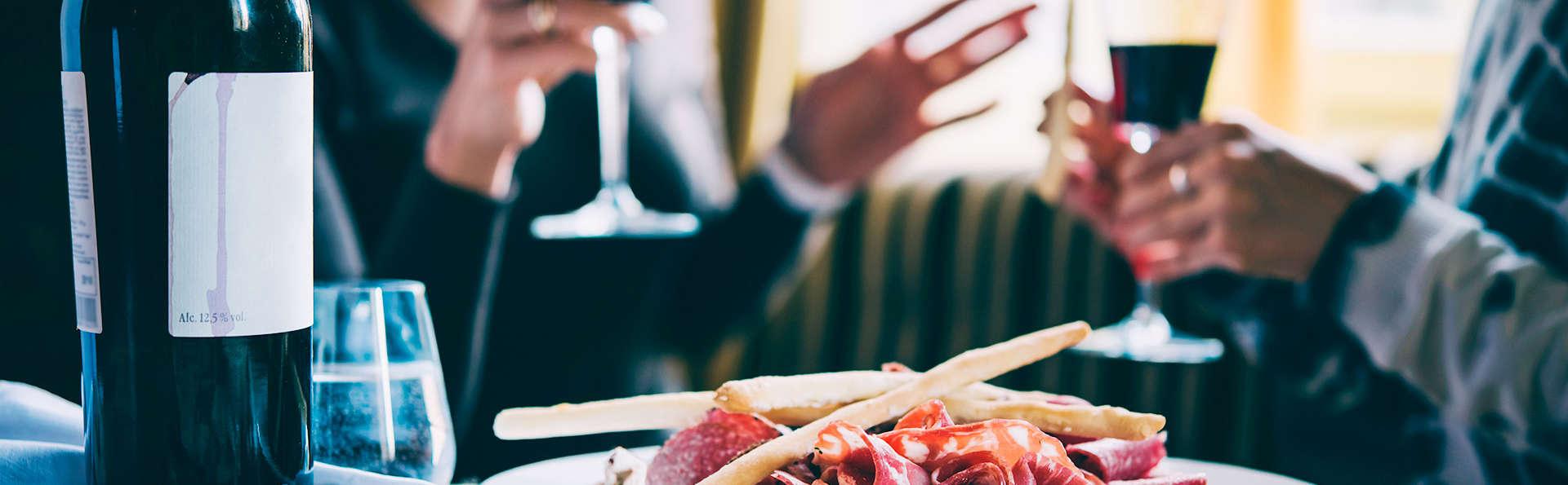 Surprenez votre moitiée avec dîner romantique et demi-bouteille de champagne à Collioure
