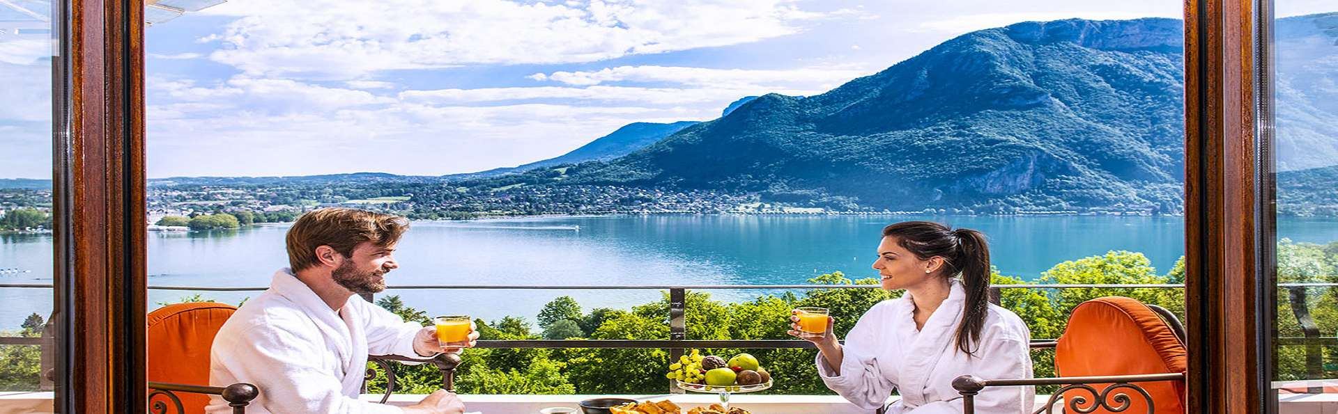 Escapade détente avec vue sur le lac d'Annecy