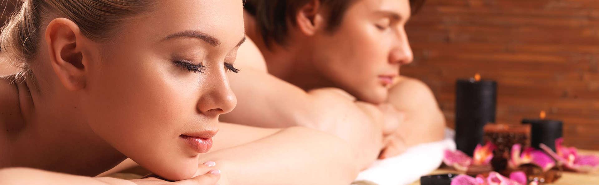 Soins aux algues et massage en duo en chambre deluxe dans un 4 étoiles en plein centre de Cannes