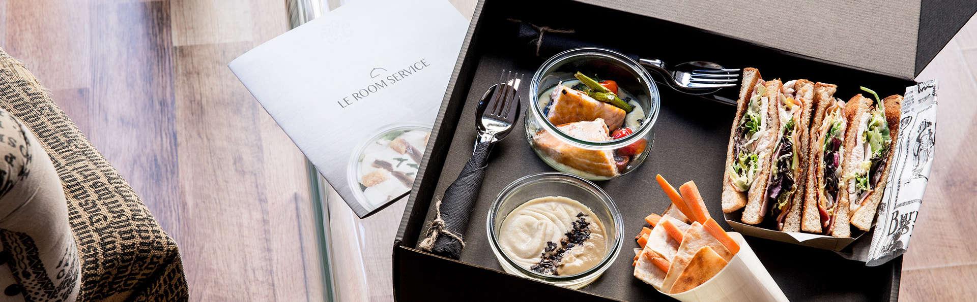 Escápate a Madrid en pleno centro con cena en habitación y desayuno incluidos