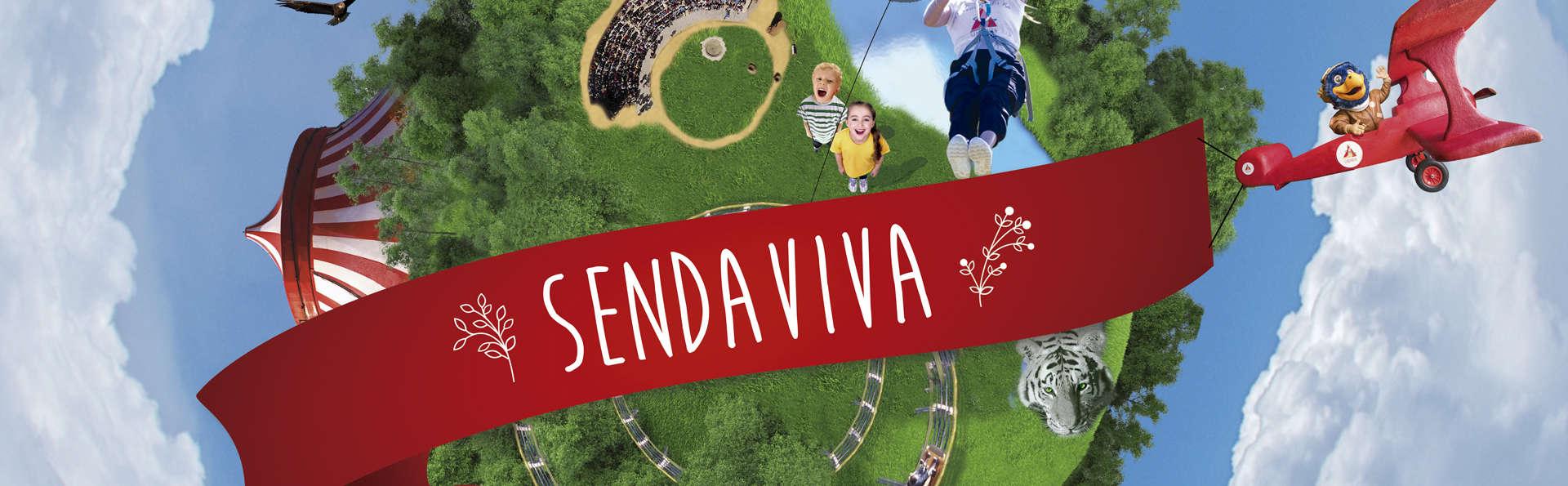 Plan ideal para las familias : hotel y entradas al Parque Natural de Sendaviva para todos!