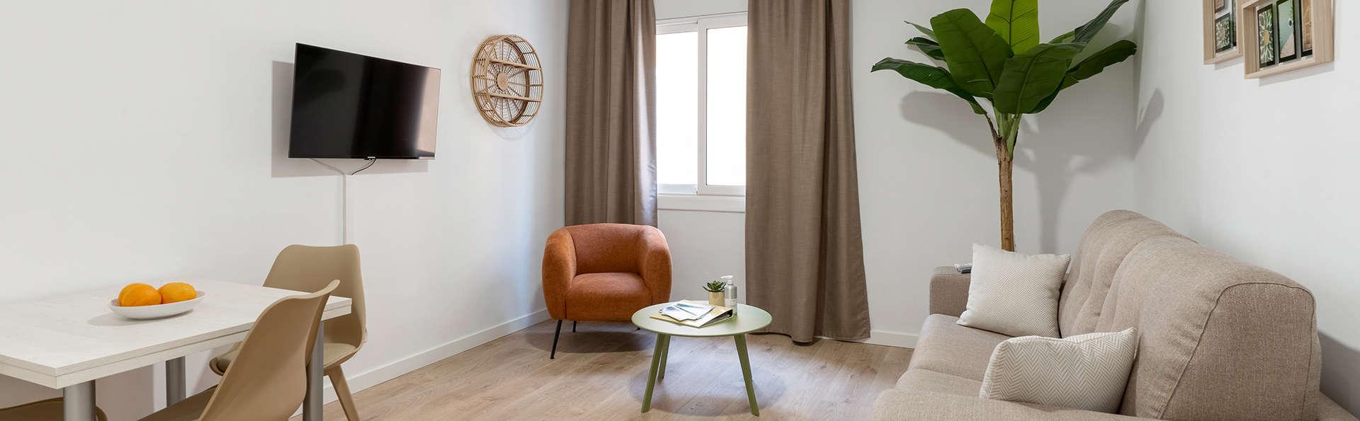 Descubre la Costa Brava en un apartamento para 4 en Lloret de mar a 5 minutos a pie de la playa