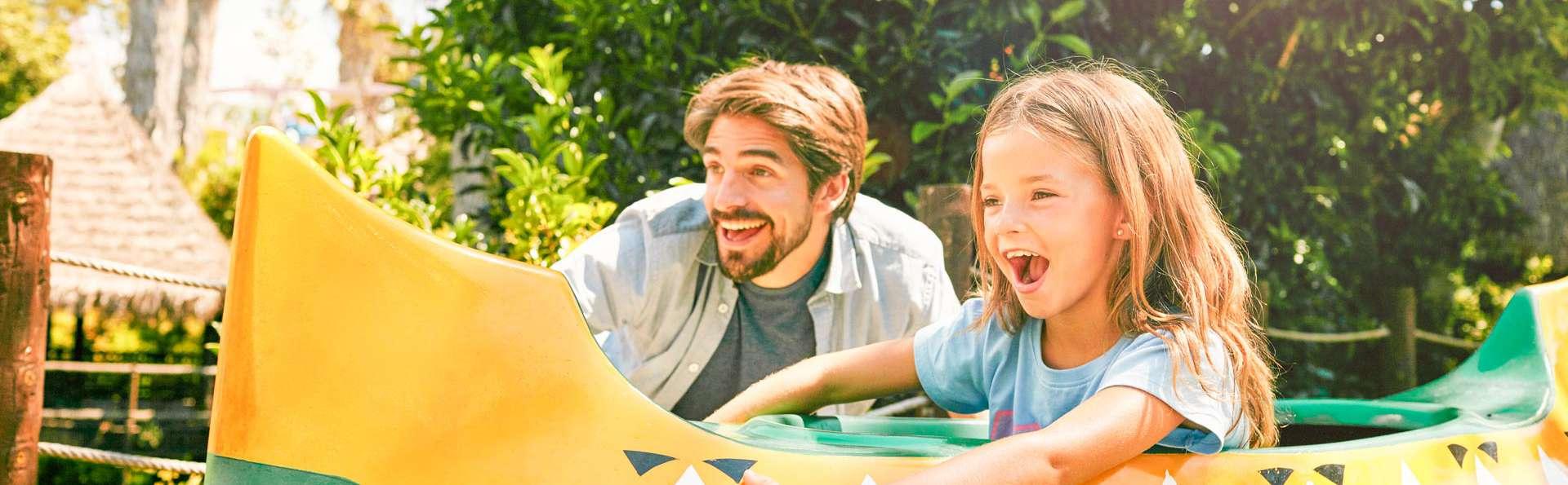 Spécial famille : 4* à PortAventura World avec demi-pension et accès aux parcs