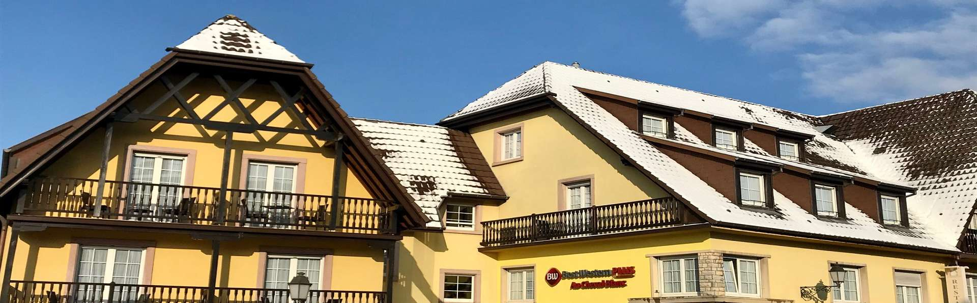 Best Western Plus Au Cheval Blanc Mulhouse Nord - facade_hiver_3.jpg