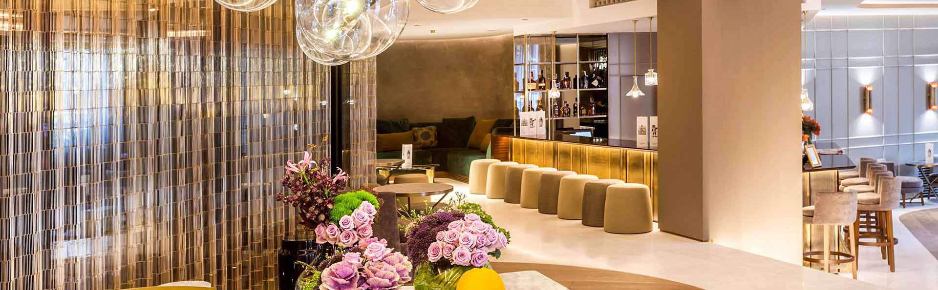 Cena en un lujoso hotel de 5* en el barrio Salamanca de Madrid (desde 2 noches)