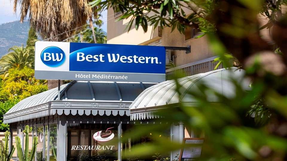 Best Western Hôtel Méditerranée Menton - HD_FACADE.jpg