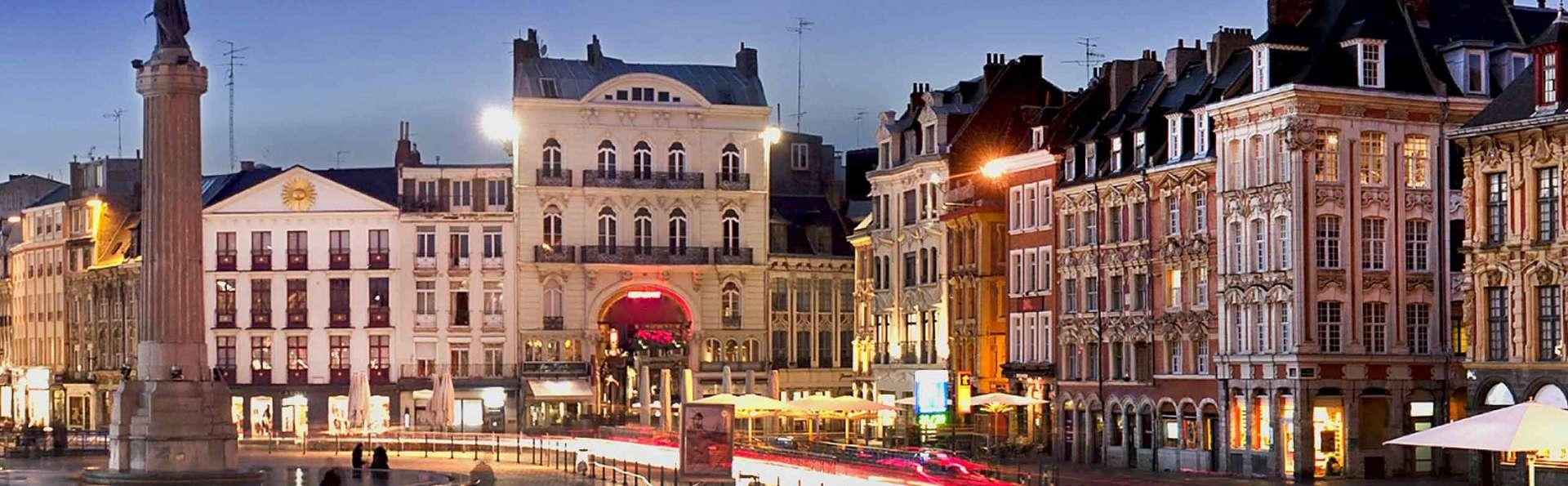 Séjour à Tournai avec visite de Lille en train et bouteille de cava