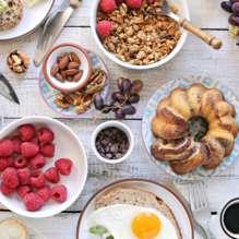 Week-end avec petit-déjeuner copieux