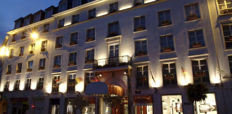 Nh hotel du grand sablon 4 bruxelles belgique for Grand hotel de paris madrid