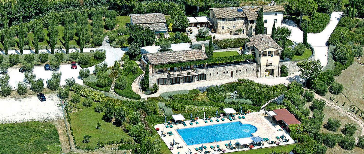 Ripa Relais Colle Del Sole - Aerial view