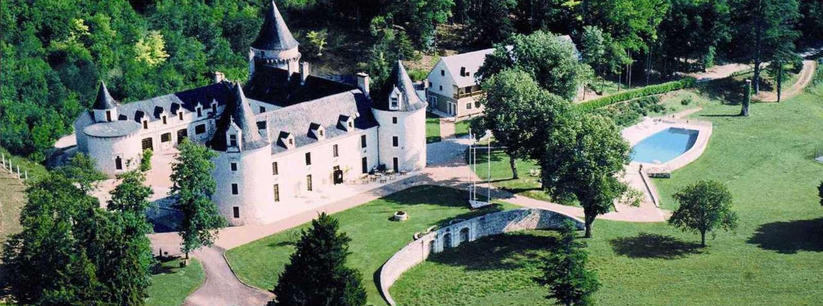 Château de la Fleunie - Chateau_de_la_Fleunie_vue_aerienne.jpg