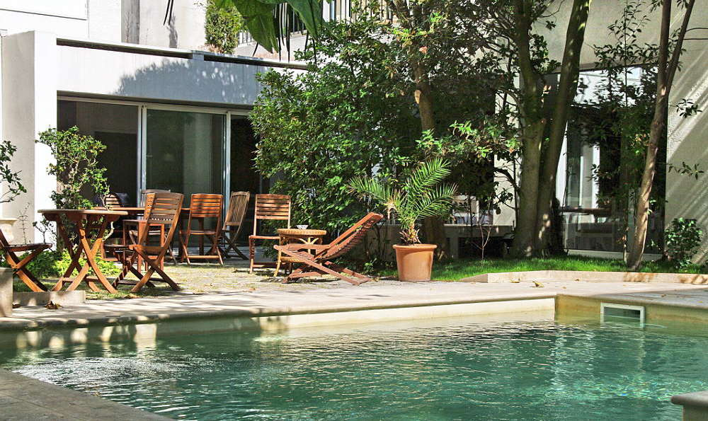 Hôtel La Résidence de France - La_Residence_de_France_piscine_terrasse_3.JPG