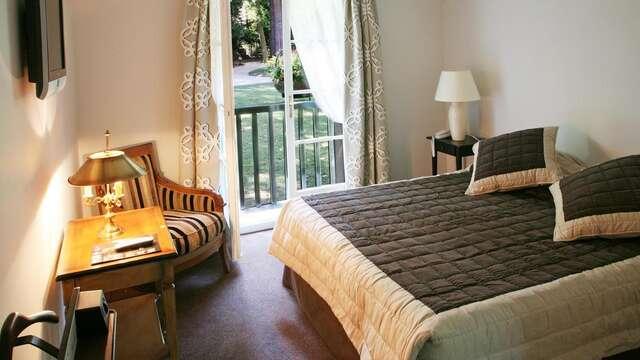 1 overnachting in een standaard suite met tuinzicht voor 2 volwassenen