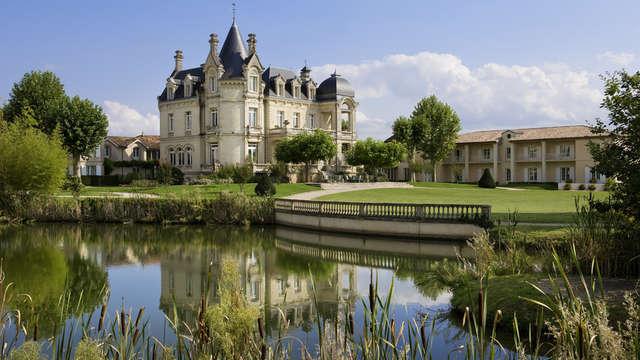 Hotel Chateau Et Spa Grand Barrail - Vue Chateau cote Parc Hotel Grand Barrail
