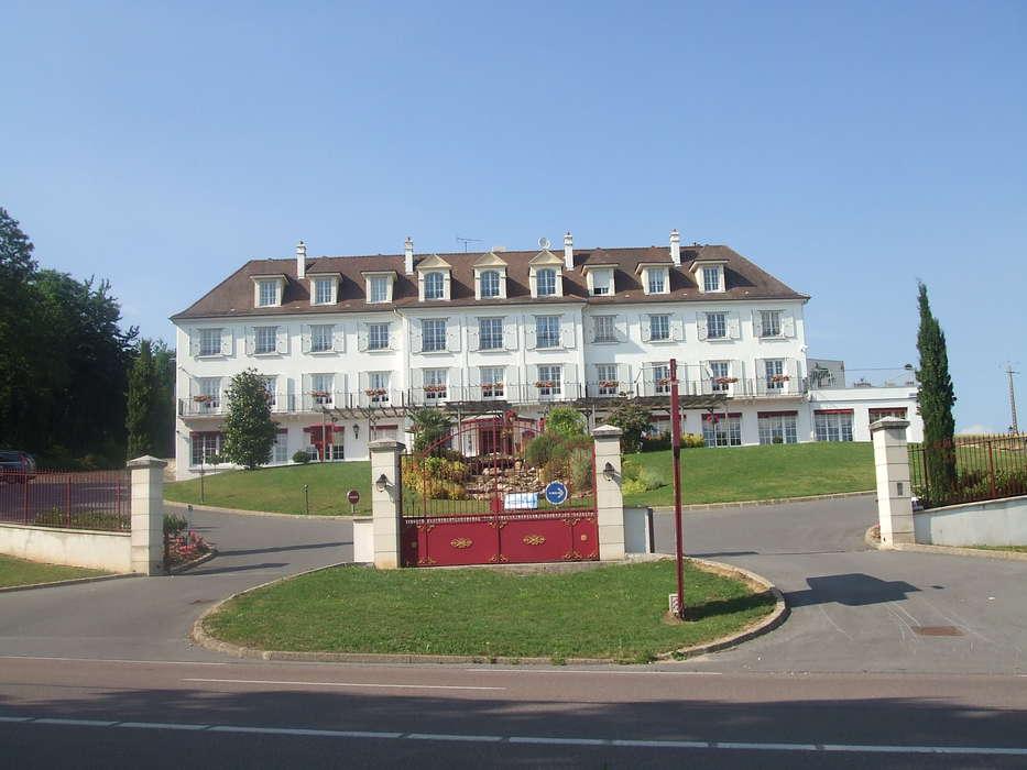 Hôtel Ile de France - Façade