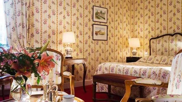 Chateau de Gilly - chambre classique