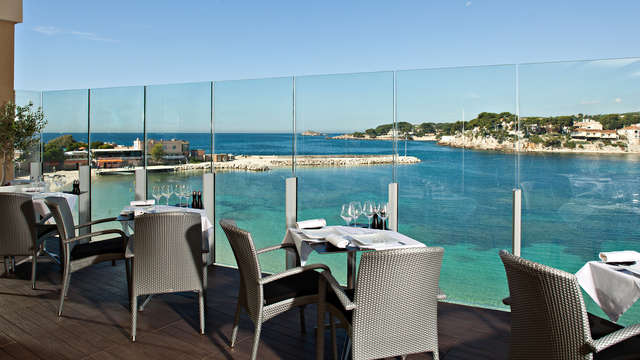 Hotel Ile Rousse Spa by Thalazur - bp-ilerousse-terrasseolive-