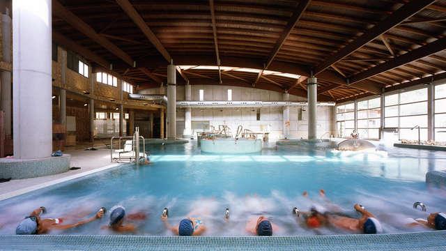 acceso a la piscina termal (día 1 y día 2)