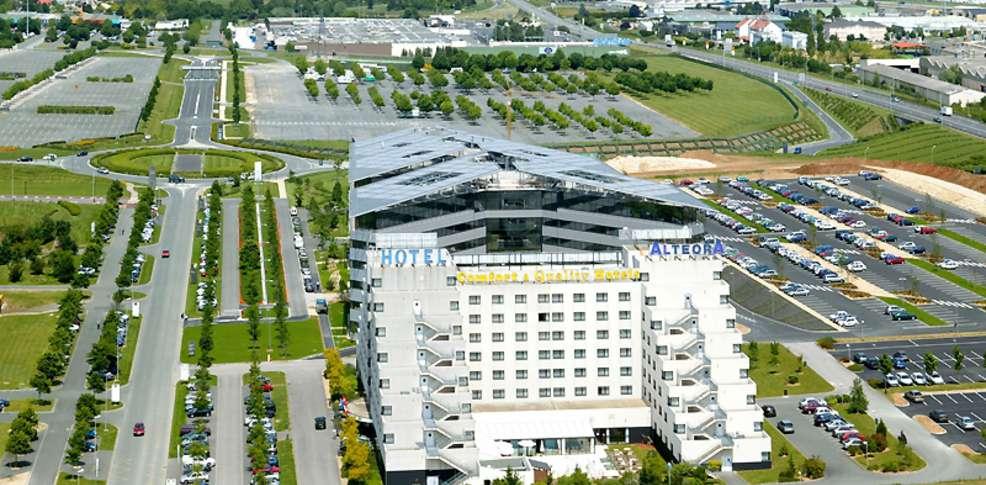 Inter h tel alt ora confort site du futuroscope 2 for Site hotel en ligne